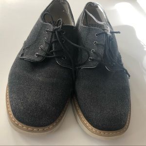 Ticket and Tate casual suede boy shoes.